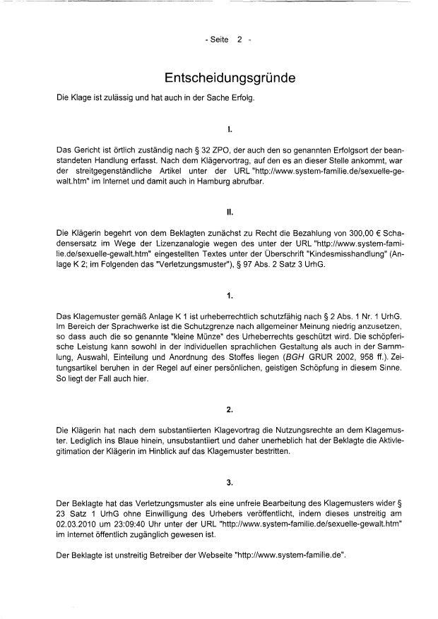 entscheidungen landgericht berlin